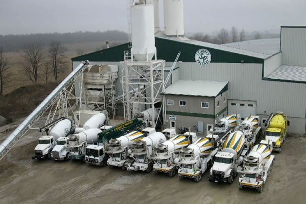 Redi-Mix Fleet of Trucks
