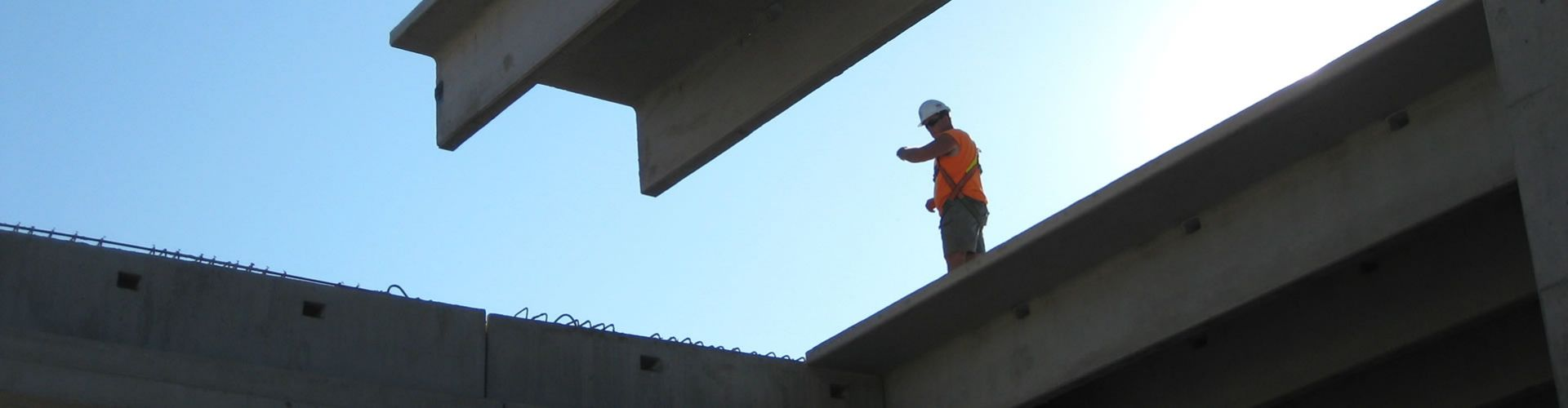 Worker signaling placement of beam
