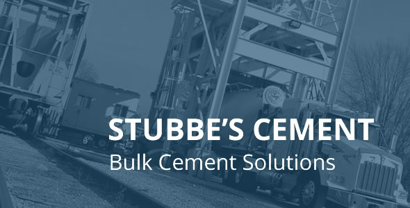 Stubbes Cement truck loading